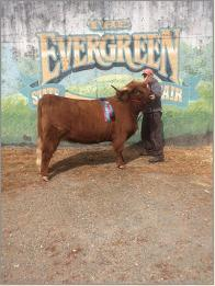 Clara Grand Champion Female Evergreen 2016